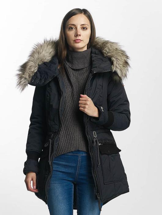 Khujo Winter Jacket Retro Bugs blue
