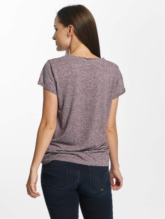 Le Temps Des Cerises T-Shirt Basitrame purple
