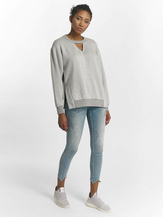 Mavi Jeans Pullover Cut Detailed gray