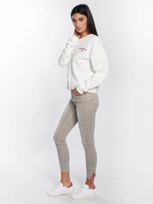 Mavi Jeans Pullover Embroidery white