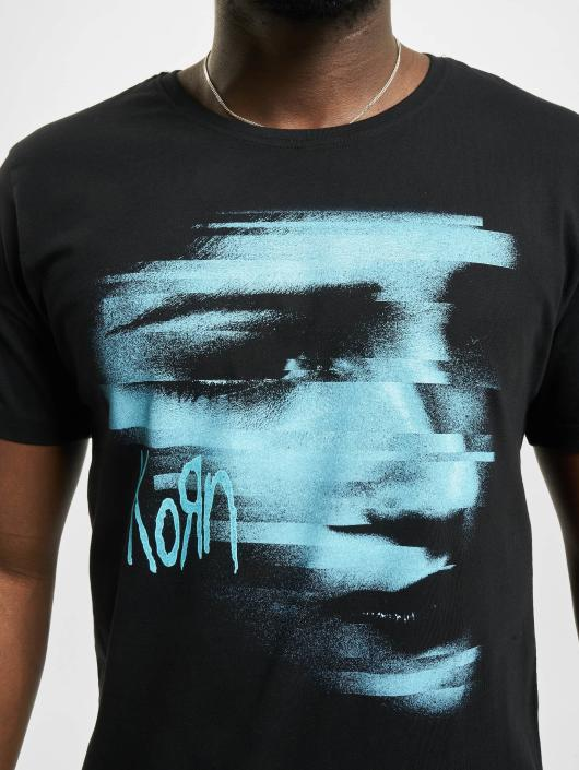 Merchcode T-Shirt Korn Face black