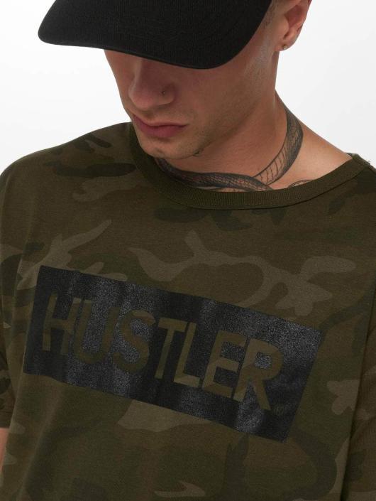 Merchcode T-Shirt Hustler Logo Camo camouflage