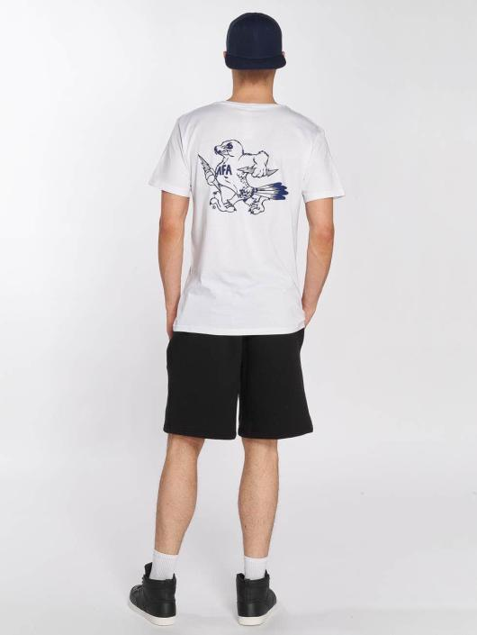 Merchcode T-Shirt Air Force Bird white