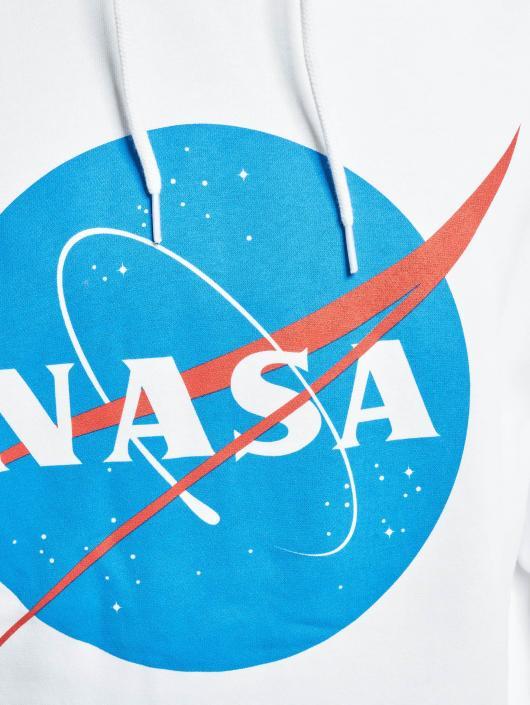 Mister Tee Hoodie NASA white