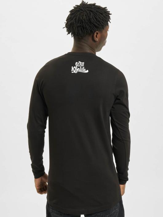 Mister Tee Longsleeve Wiz Khalifa Half Face black