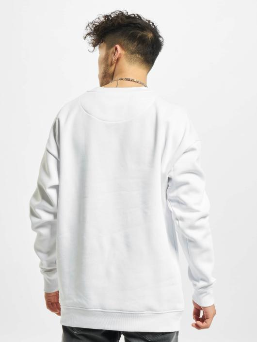 Mister Tee Pullover Embossed NASA Worm white