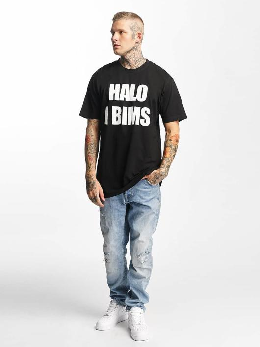 Mister Tee T-Shirt Halo I Bims black