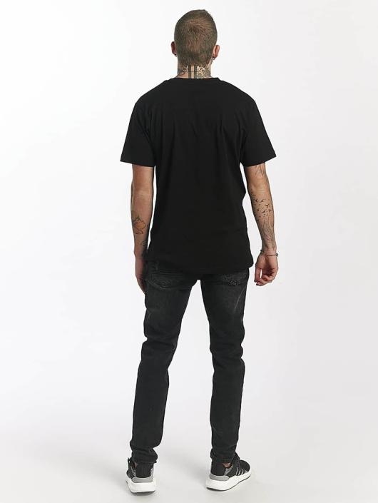 Mister Tee T-Shirt Waterpaint Skull black
