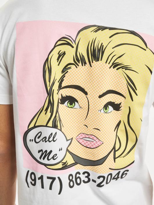 Mister Tee T-Shirt Call Me white