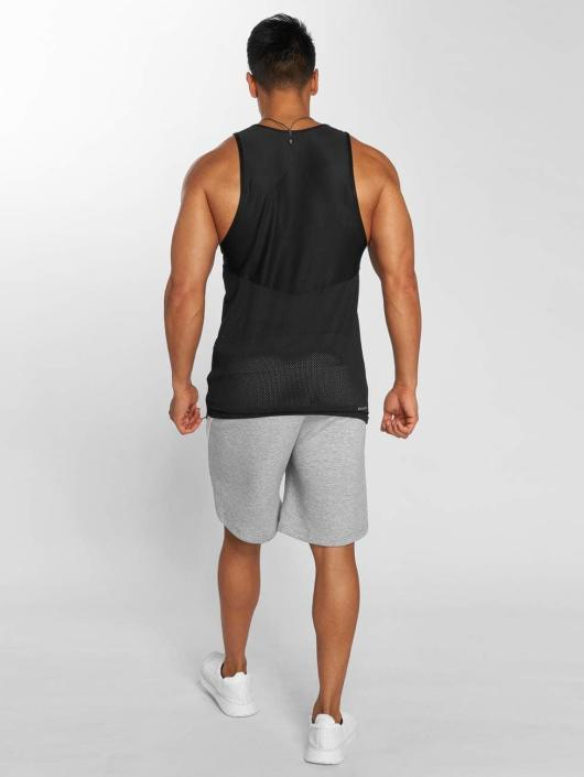 MOROTAI Tank Tops Light Mesh black