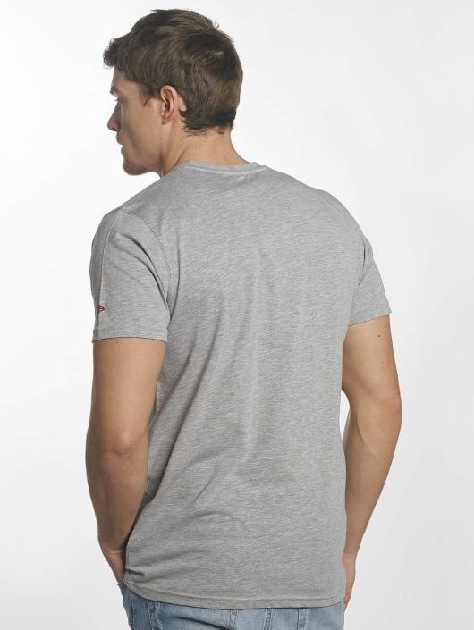 New Era T-Shirt Team Logo Miami Heat gray