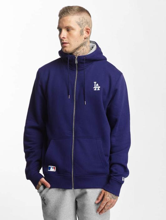 New Era Zip Hoodie LA Dodgers blue