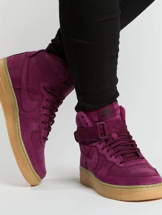 Nike Sneakers Air Force 1 High WB red