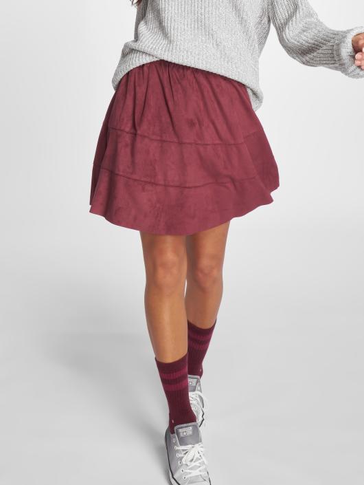 Noisy May Skirt nmLauren red