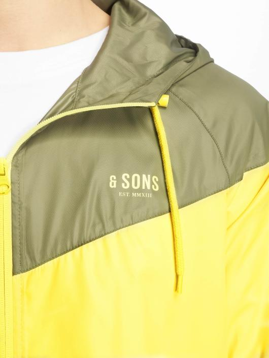 Only & Sons Lightweight Jacket onsStefan yellow