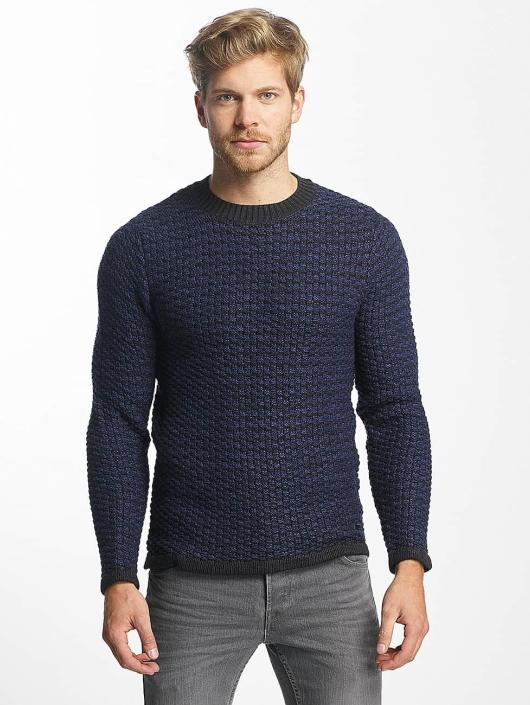Only & Sons Pullover onsDoc Crew Neck blue
