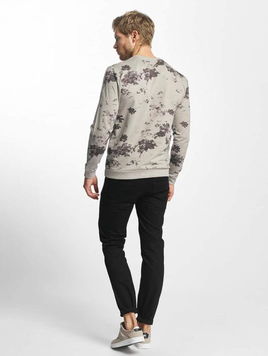 Only & Sons Pullover onsTim Flower Print gray
