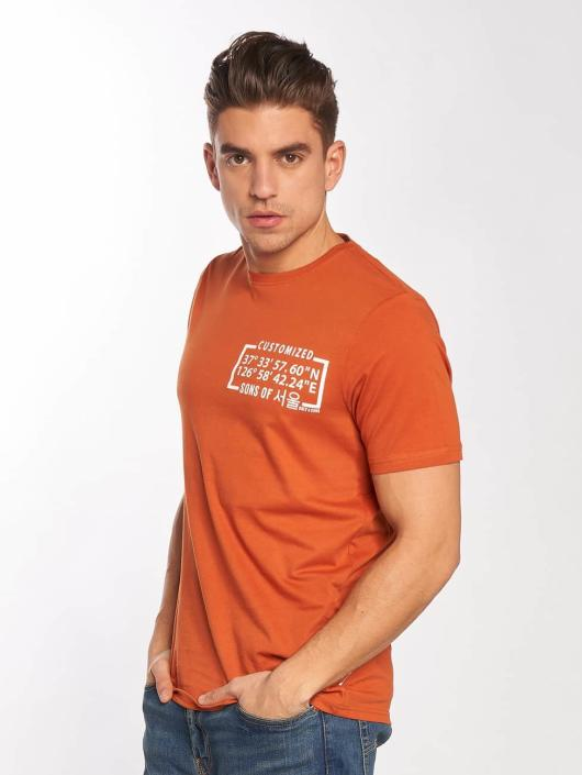 Only & Sons T-Shirt onsSantos brown