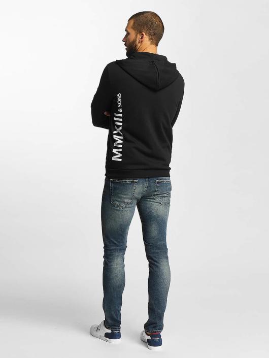 Only & Sons Zip Hoodie onsCadby black