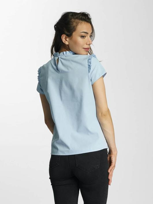 Only Blouse/Tunic onlOzzy Small Frill blue
