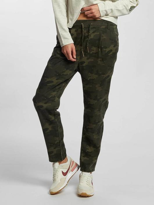 Only Chino pants onlLilah Poptrash Lyocell Camu camouflage