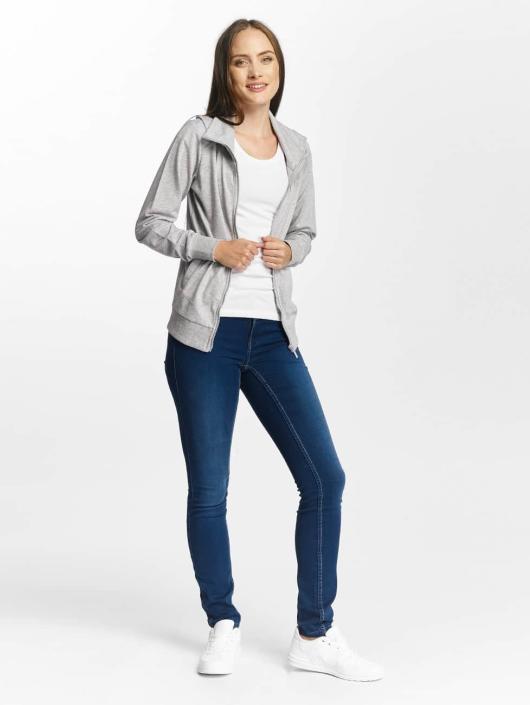 Only Play Lightweight Jacket onpLina High Neck Zipper gray