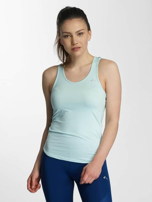Only Play Tank Tops onpAlba blue