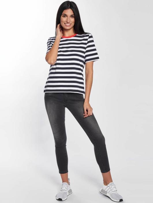 Only T-Shirt onlLive Love Trendy Stripe blue