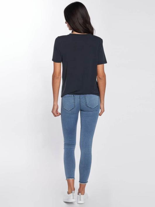Only T-Shirt onlVenus Modal blue