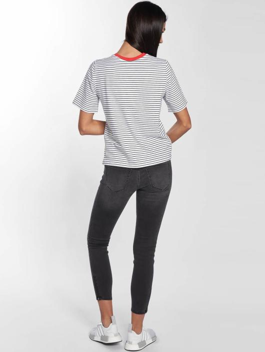 Only T-Shirt onlLive Love Trendy Stripe white