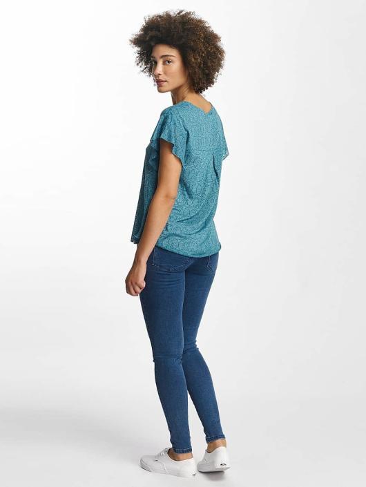Oxbow T-Shirt Trinity Crinkle turquoise