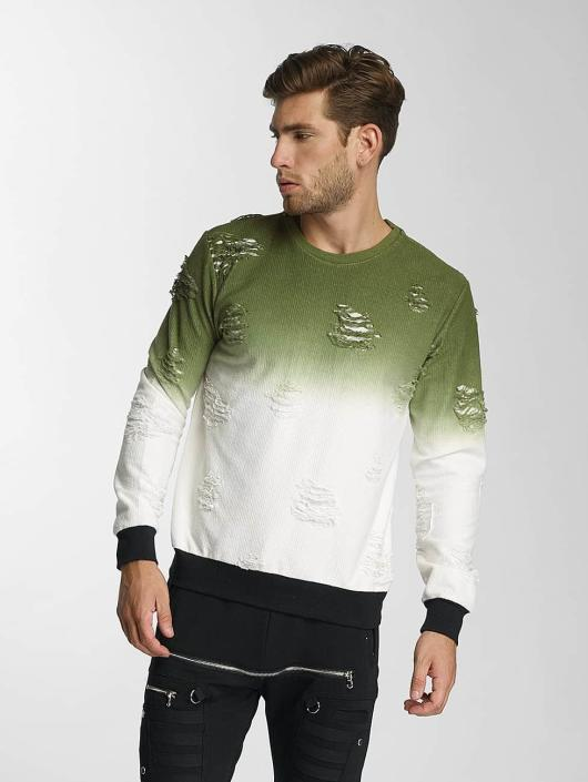 Paris Premium Pullover Two Tone green