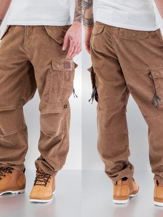 Pelle Pelle Cargo pants Corduroy beige