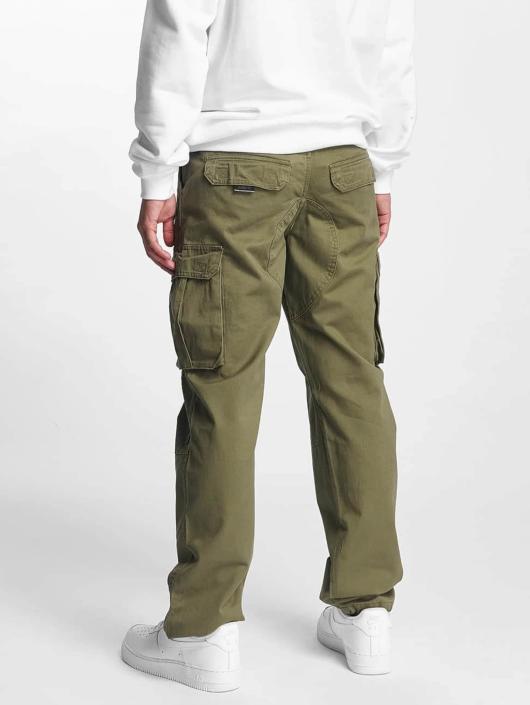 Pelle Pelle Cargo pants Basic Re Up Twill olive