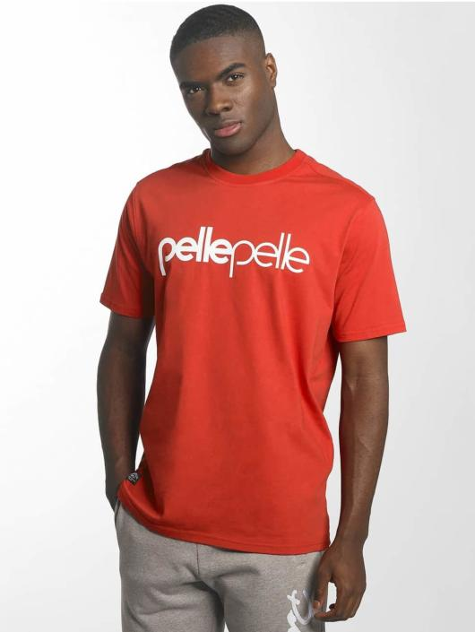 Pelle Pelle T-Shirt Back 2 Basics red