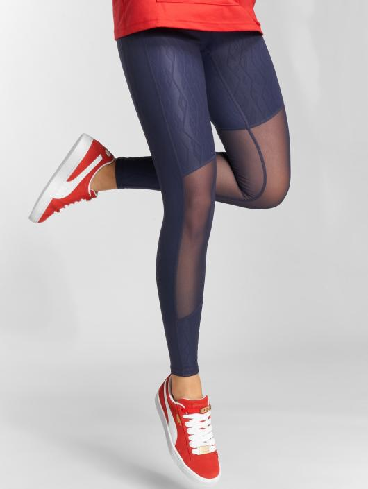 Puma Performance Leggings/Treggings Always On Graphic 7/8 blue
