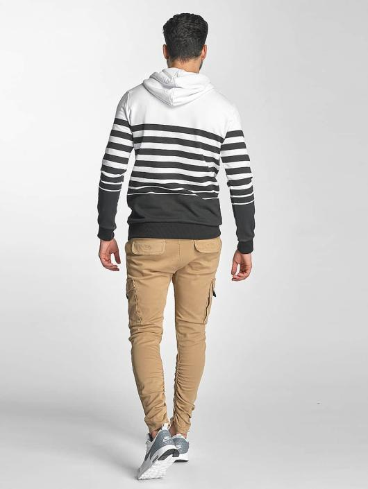 Red Bridge Hoodie Young Stripes white
