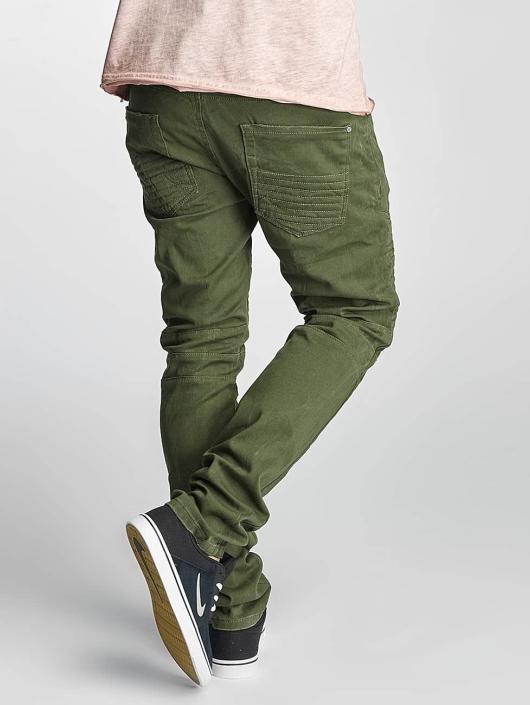 Red Bridge Straight Fit Jeans Sochumi green