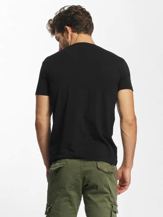 Red Bridge T-Shirt MCMXCIII Modern Characters black