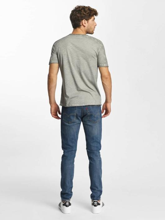 Red Bridge T-Shirt Vintage Seam gray