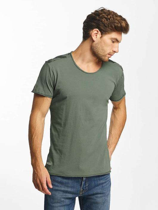 Red Bridge T-Shirt Backing You Up khaki