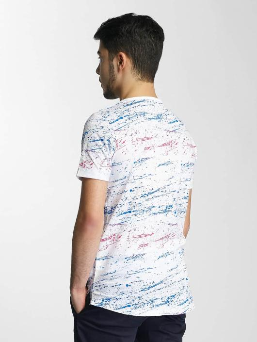Red Bridge T-Shirt Splatter Pocket white