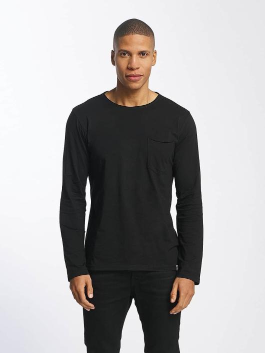 SHINE Original Longsleeve Andrian Dyed & Wash Out black