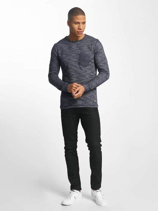 SHINE Original Pullover Malcom Pocket Inside Out blue