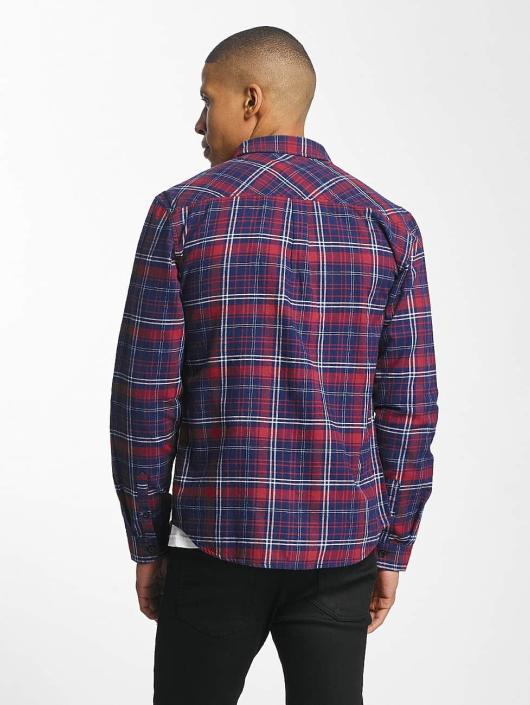 SHINE Original Shirt Luis Checked red