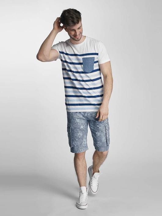 SHINE Original T-Shirt Striped blue