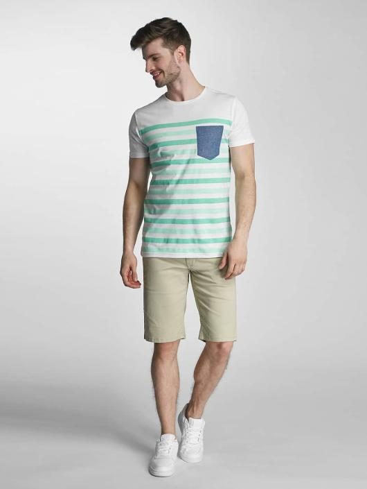 SHINE Original T-Shirt Striped green