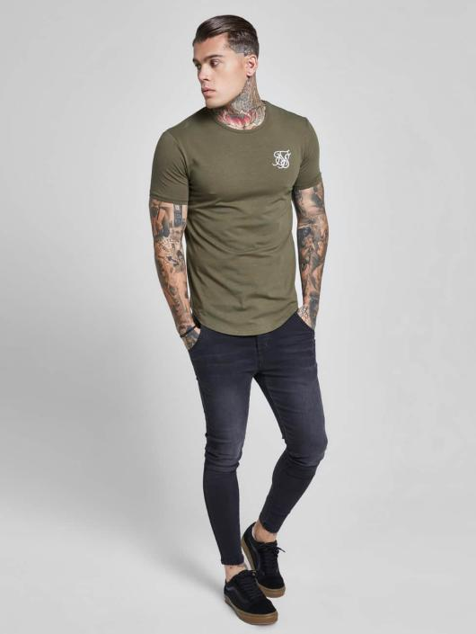 Sik Silk T-Shirt Gym khaki