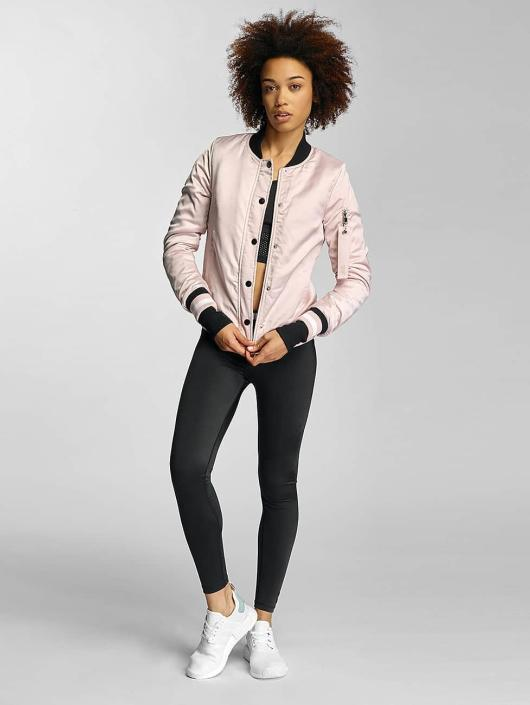 Sixth June Bomber jacket Paris 75 rose