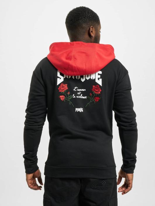 Sixth June Hoodie Roses black
